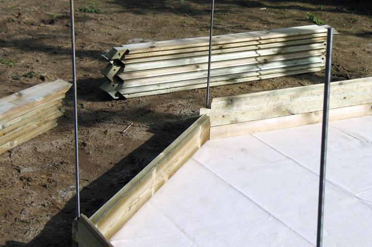 bygga egen pool i trä