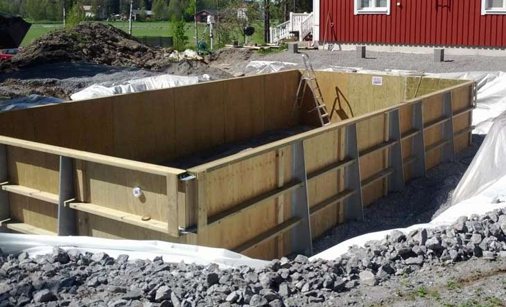 Bygga pool själv trä