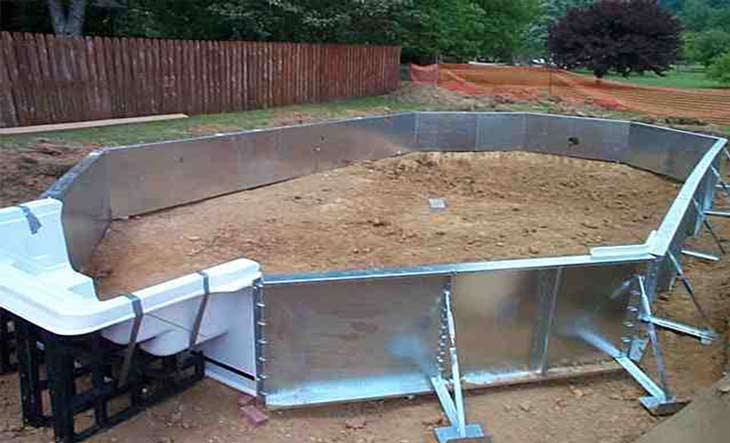 Billig pool tlue tathtub billig groe familie aufblasbare pool sommer wasser schwimmen spielen - Pool selber bauen billig ...