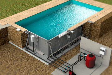 stålpool konstruktion